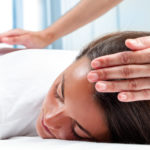 Reiki hands on healing